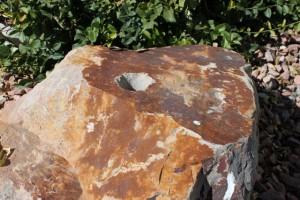 Drilled Boulder