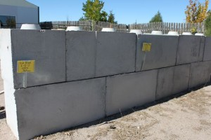 Wall Block - Large Smooth Face
